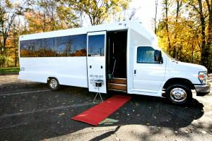 16-22 Passenger Party Bus – Mini-Bus