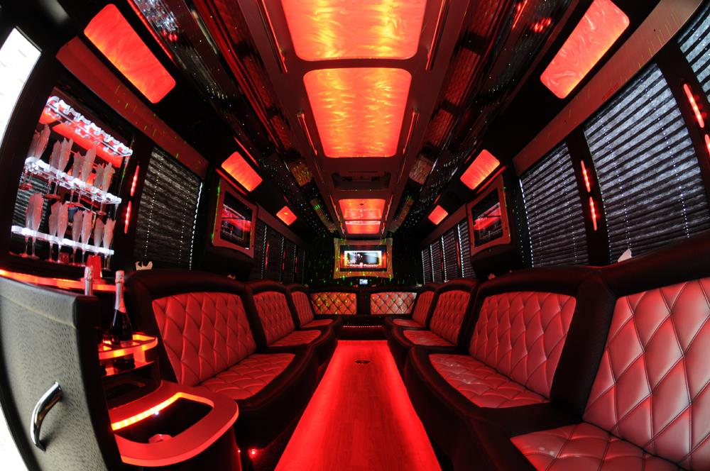 NJ Limo Rental Party Bus Ultimate